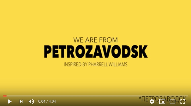 We are from Petrozavodsk